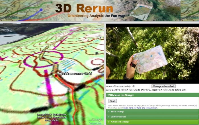 3D Rerun HeadCam Demo